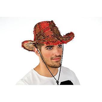 Western Hat patch Hat Hat Herre bonde mænd Hat rød