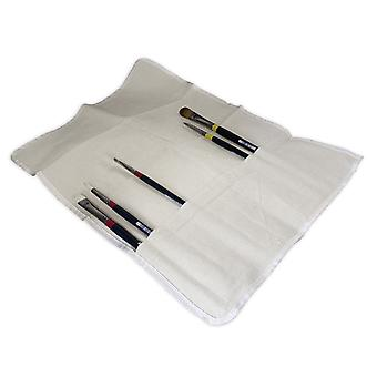 The Art Shop Skipton Canvas Paint Brush Storage Wrap
