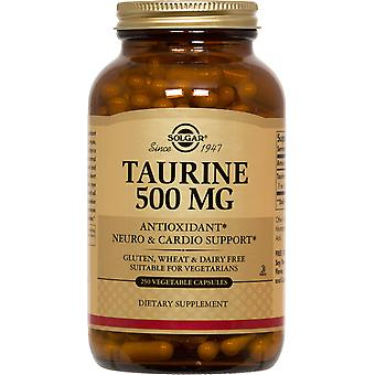 Solgar Taurine 500 mg Vegetable Capsules 250ct