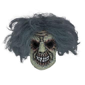 Horror Man Mask W/Hair