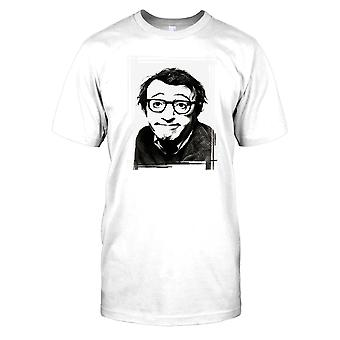 Jovem Woody Allen retrato Mens T camisa