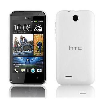 Cadorabo Case for HTC Desire 300 Case Cover - Mobile Phone Case made of flexible TPU silicone - Silicone Case Protective Case Ultra Slim Soft Back Cover Case Bumper