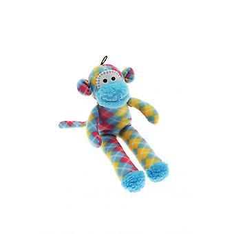 Happy Pet Sock Monkey Dog Toy