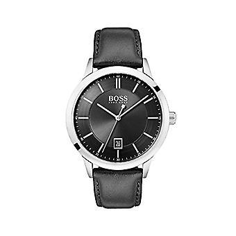 Relógio Hugo Boss masculino analógico de quartzo com pulseira de couro 1513611