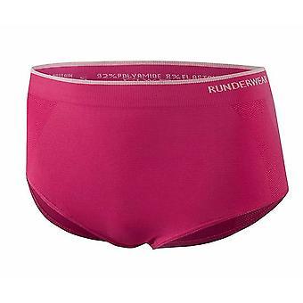 Runderwear Womens Damen laufen kurze Unterwäsche-Pink
