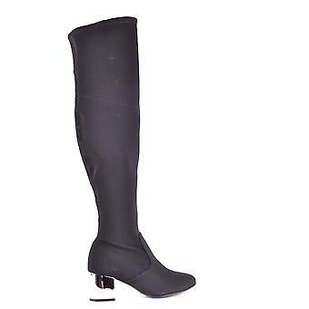 Schutz Ezbc080004 Women's Black Fabric Boots