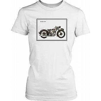 BSA 1930 Sloper - klassisk motorcykel damer T Shirt