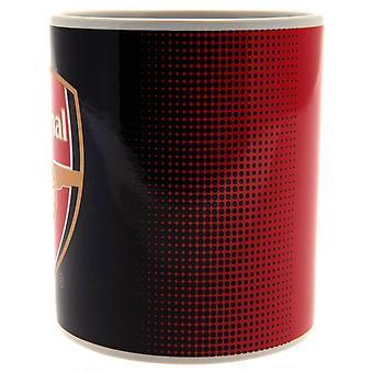 Арсенал ФК исчезать керамическая кружка Дизайн в коробке печатных карт