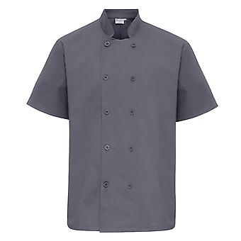Premier Unisex Short Sleeved Chefs Jacket / Workwear (Pack of 2)
