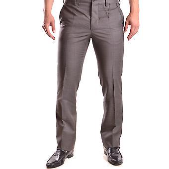 John Galliano Ezbc189009 Men's Brown Wool Pants