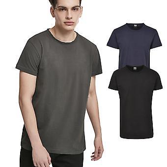 Urban Classics-pigment Dye høj lav skjorte