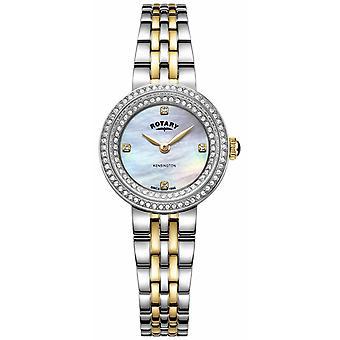 Rotary Ladies Kensington   Two-Tone Stainless Steel Bracelet   LB05371/41 Watch