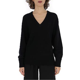 Chloé Chc19amp73500001 Women's Black Wool Sweater