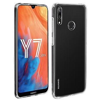 Huawei Y7 2019 Transparent Soft Protection Case