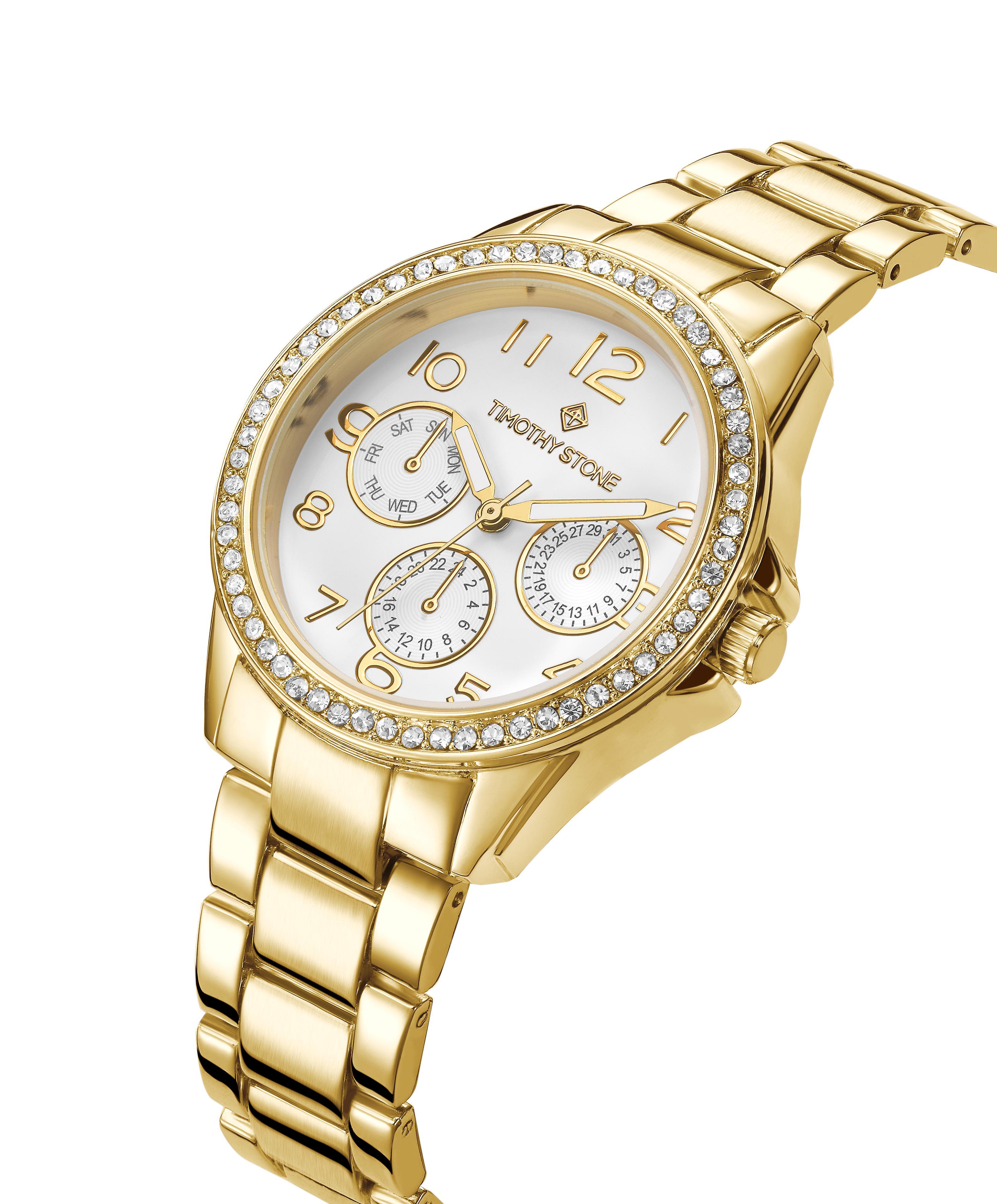 Timothy Stone Women's KATY Gold-Tone Watch