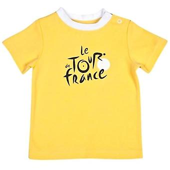 Tour de France baby Leader T-shirt | Geel | 2019