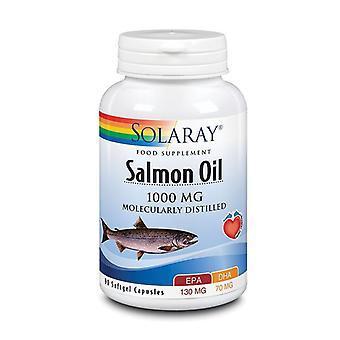 Huile de saumon Solaray 1000mg Softgels 90 (62657)