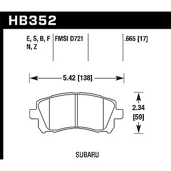 Hawk Performance HB352N.665 HP Plus