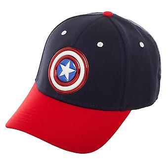 Baseball Cap - Captain America - Ball Cap New Licensed bx6u42mvu
