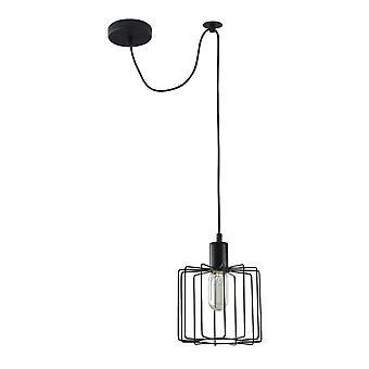 Maytoni Lighting Monza LOFT Pendant, Black