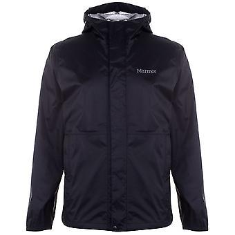 Marmot Mens PreCip Eco Lite Jacket Top Hooded Lightweight Waterproof Long Sleeve