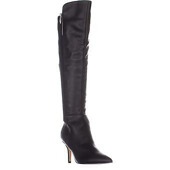 Marc Fisher Womens Thora cuir a souligné Toe au-dessus du genou bottes de mode
