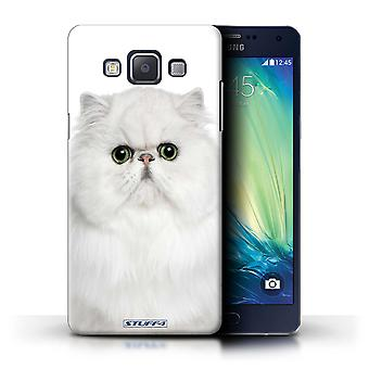 STUFF4 Case/Cover for Samsung Galaxy A5/A500/Persian White/Cat Breeds