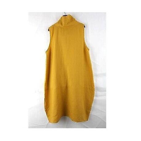 Summer Pocket Women Knee-length  Dresses