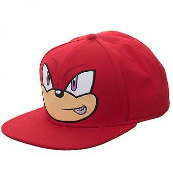 Knuckles Big Face Adjustable Snapback Hat