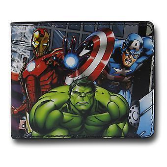 Avengers assembleren Bi-fold Portemonnee