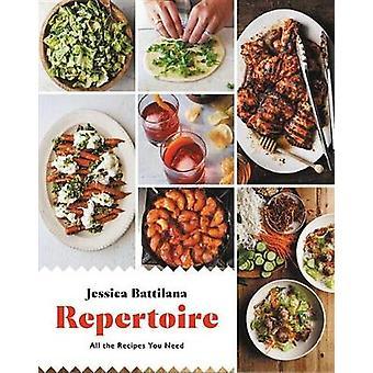 Repertorio - tutte le ricette che avete bisogno di Jessica Battilana - 978031636