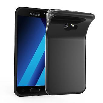 Cadorabo Caja para Samsung Galaxy A7 2017 Funda de la funda - Funda del teléfono móvil hecha de silicona flexible TPU - Funda de protección de silicona Ultra Slim Soft Back Cover Case Bumper