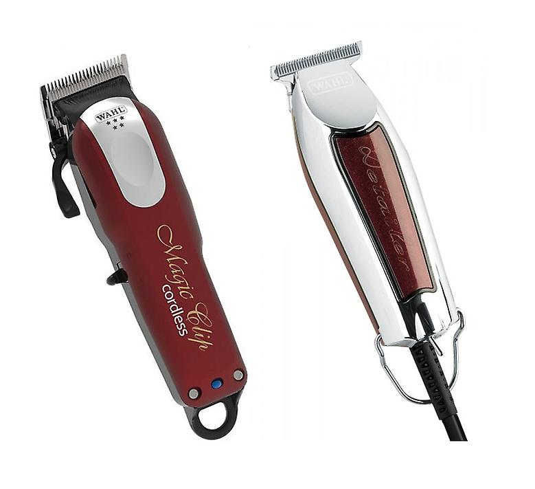 Wahl Cordless Magic Clipper and Detailer T-Wide Trimmer