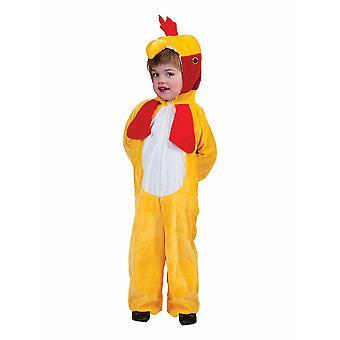 Huhn Hühnchen Kinderkostüm Hahn Chicken Kostüm Kinder Karneval Tierkostüm