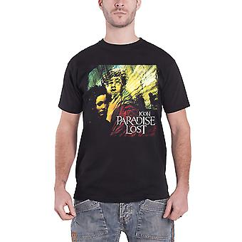Paradise Lost T Shirt Icon album band logo new Official Mens Black