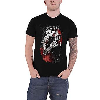 Black Veil Brides T Shirt Andy BVB Inferno band logo Official Mens Black