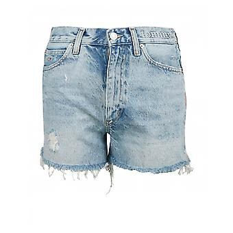 Tommy Jeans Distressed Denim Shorts