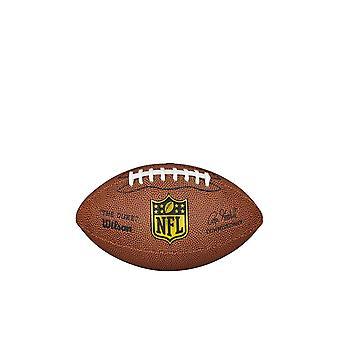 Wilson NFL The Duke Mini American Football Game Ball - Tan
