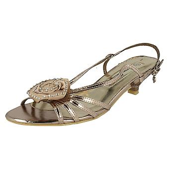 Ladies Anne Michelle Heeled Sandals L3991