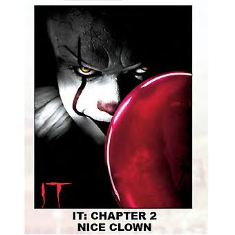 Super Soft Throws - IT: Chapter 2 - Nice Clown New 45x60