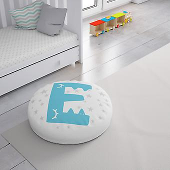 Meesoz Floor Cushion - Letter Boy - E