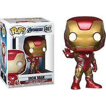 Funko Pop Marvel Avengers Endspiel Iron Man + Pop Protector