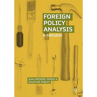 Foreign Policy Analysis by Morin