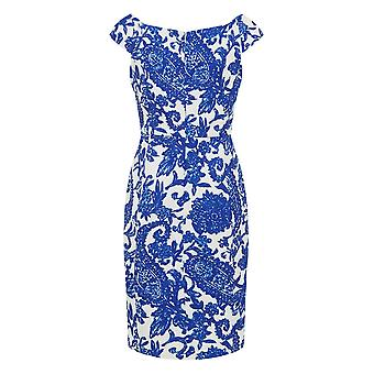 Darling Women's Blue White Brigette Pencil Dress