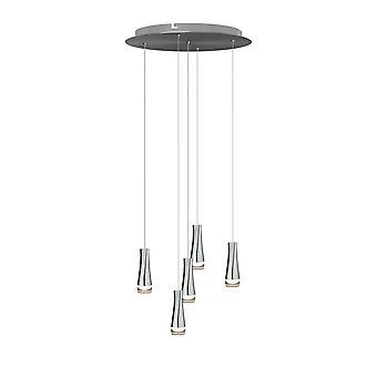 Firebolt 5 mini hängande belysning krom