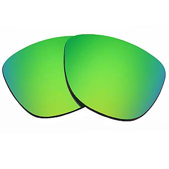 Replacement Lenses for Oakley Frogskins Sunglasses Green Mirror Anti-Scratch Anti-Glare UV400 by SeekOptics