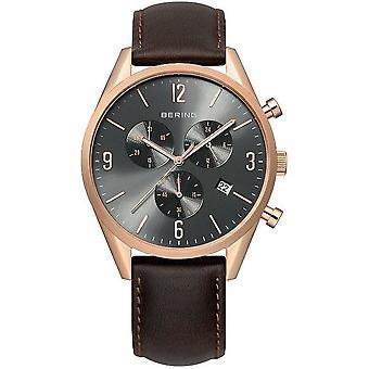 שעוני ברינג גברים שעונים הכרונוגרף קלאסי 10542-562