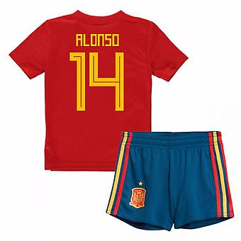 2018-19 Spain Home Baby Kit (Alonso 14)