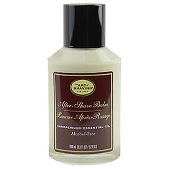 Aftershave Balm Alcohol Free - Sandalwood Essential Oil--100ml/3.3oz