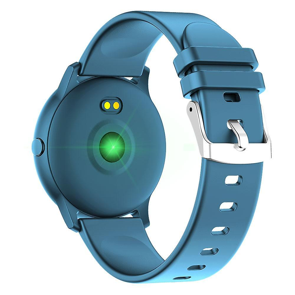 Heart Rate Blood Pressure Monitor Weather Push Fitness Tracker Smart Watch
